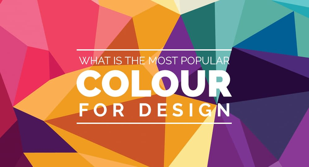 What is the most popular colour for design