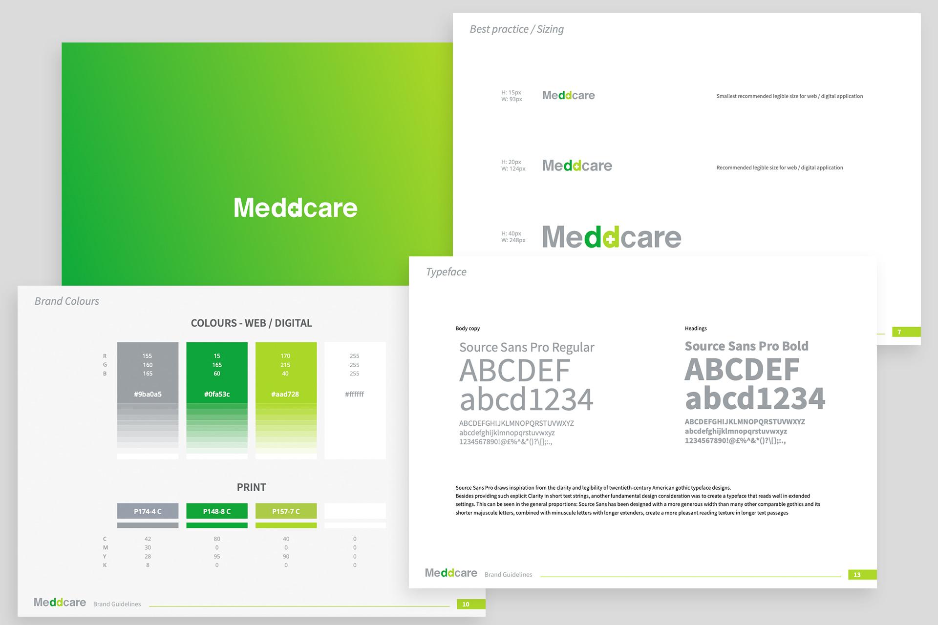 Meddcare - Half Page