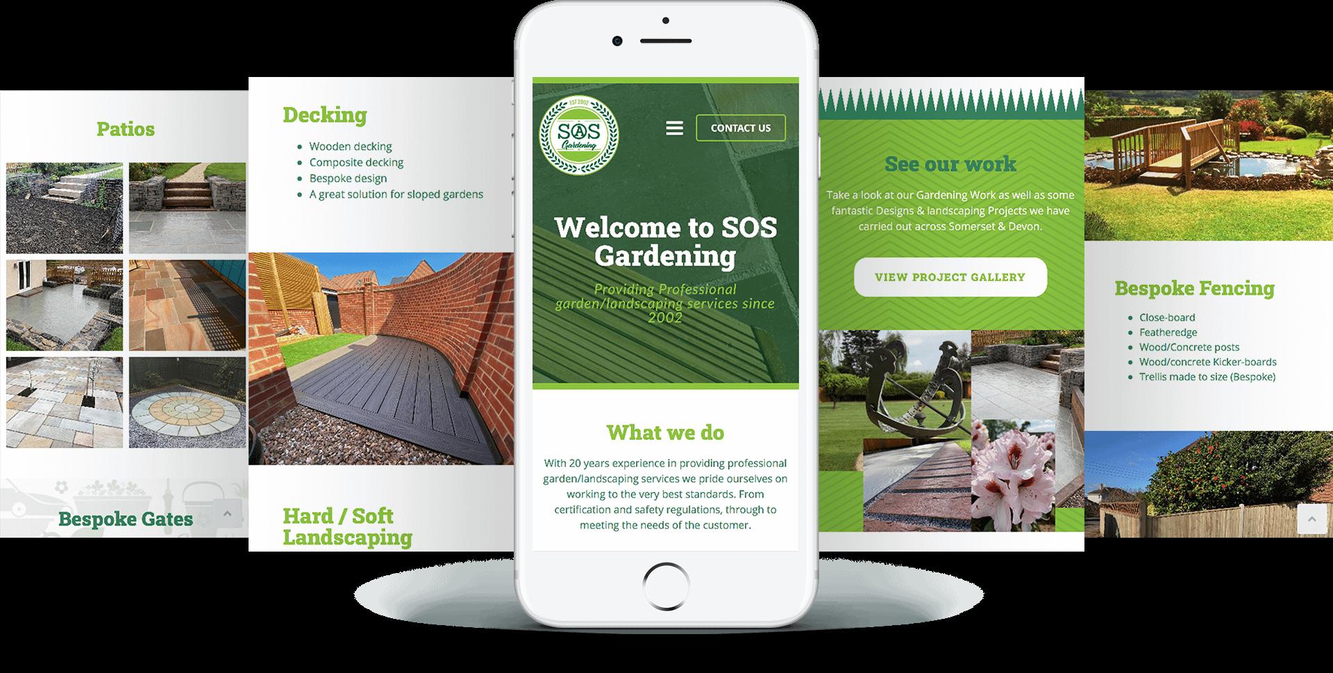 SOS Gardening Mobile