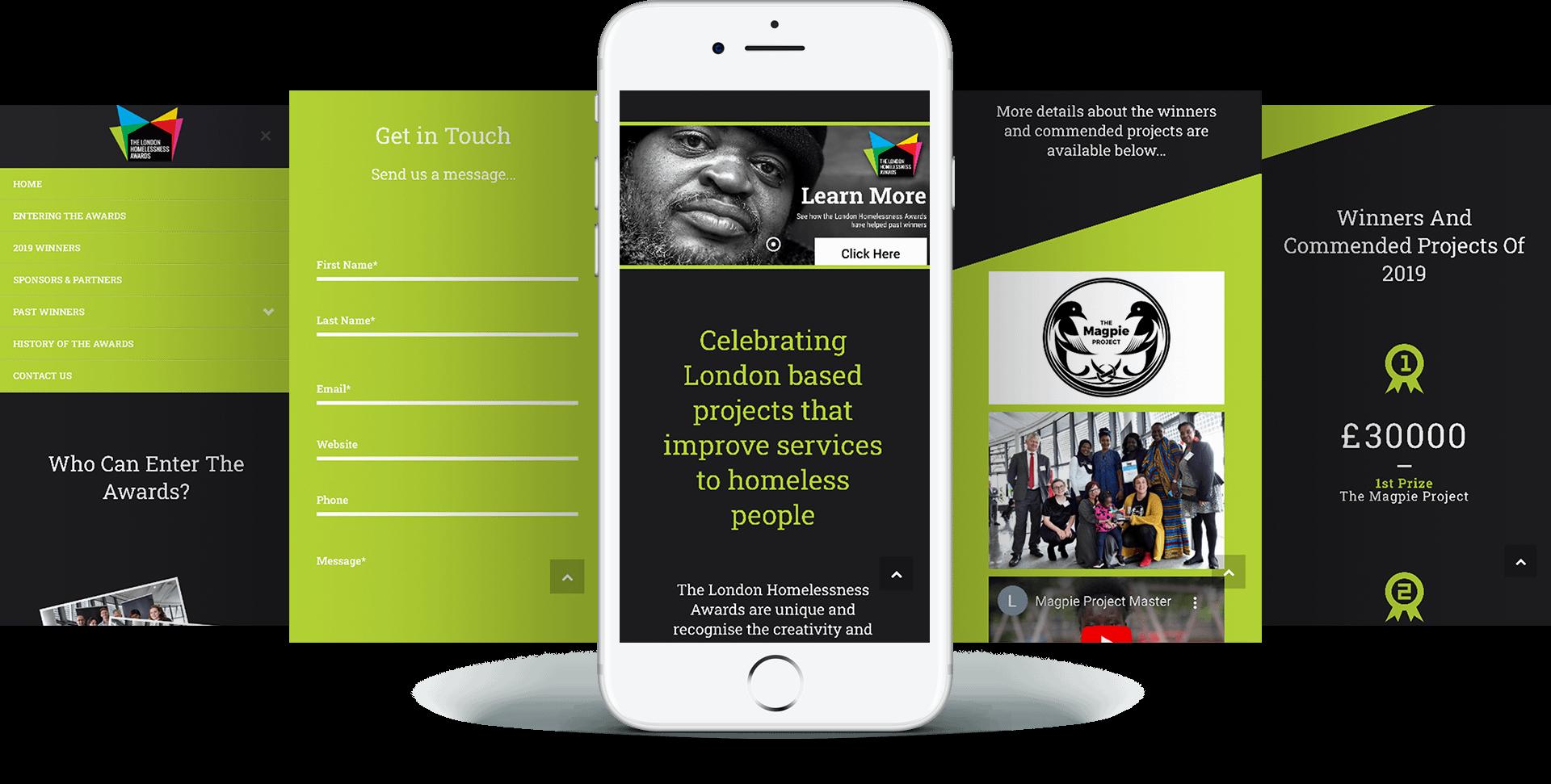 LHA Mobile Screens