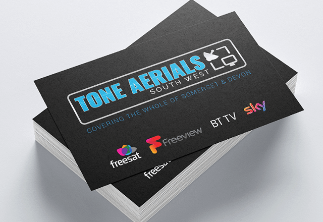 Tone Aerials Business Cards project cover