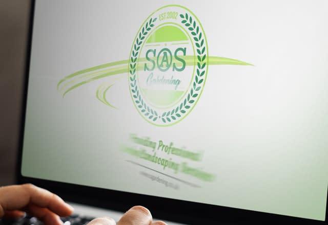 SOS Gardening Logo Reveal