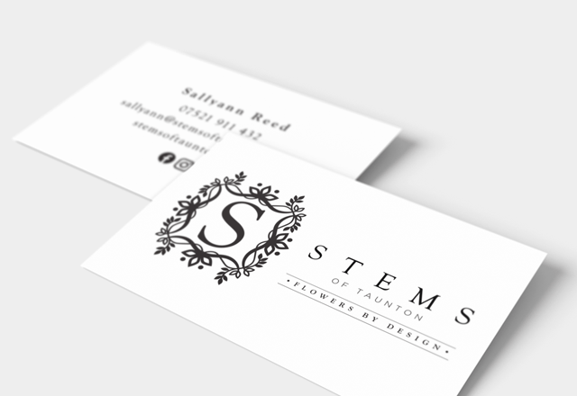 Stems Business cards
