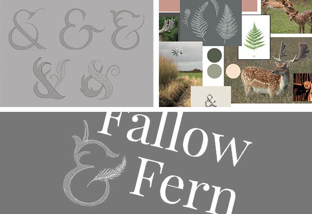 Fallow & Fern Logo Work