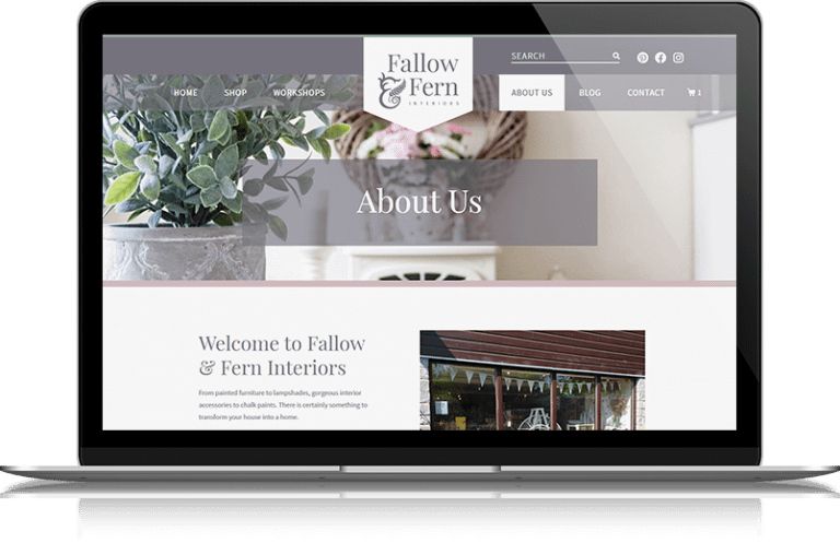 Soft Furnishings e-Commerce Website